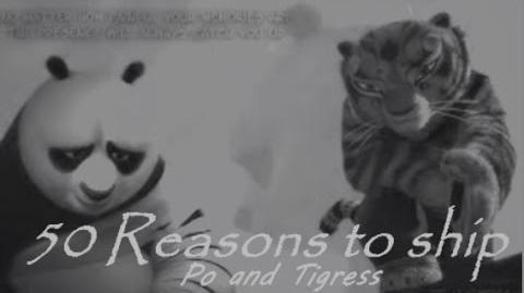 50 reasons to ship Po and Tigress aka Tipo-0