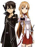 Asuna & Kirito Poster (10)