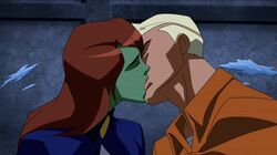 Miss Martian & Superboy First Kiss S1E11 (2)