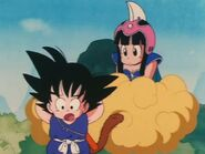 Goku telling Chi chi his weakness