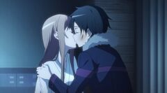 Asuna & Kirito Real World First Kiss S1E25
