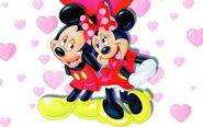 Mickey Mouse and Minnie Mouse Love 2354538417149296