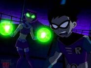 Teen Titans Robin and Starfire 49253711