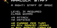 Warlock Staff