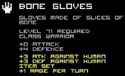 Bone Gloves