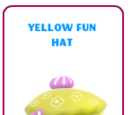 Yellow fun hat