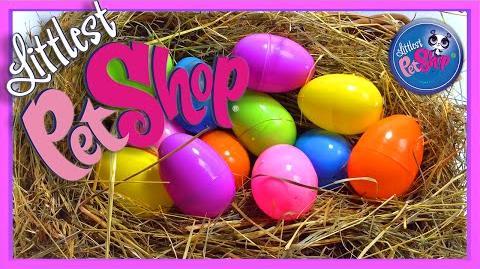 Littlest Pet Shop SURPRISE EGGS, LPS - Surprise Egg Opening *
