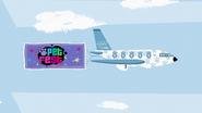 Pet Jet with Pet Fest banner