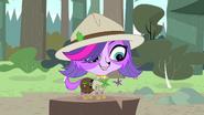 Zoe in Ranger outift