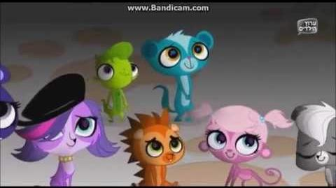 Littlest Pet Shop My Biggest Secret (Hebrew)