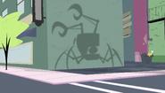 Alien Assult robot shadow