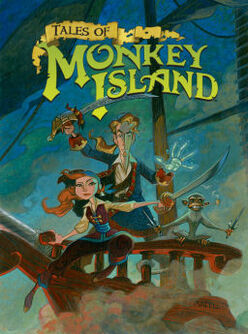Tales of Monkey Island artwork