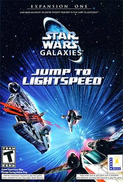 Star Wars Galaxies - Jump to Lightspeed Coverart