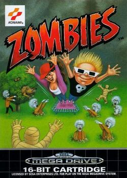 Zombies PAL cover