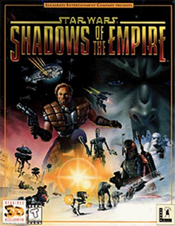 Star Wars - Shadows of the Empire Coverart