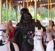 Darth Vader on Carosel
