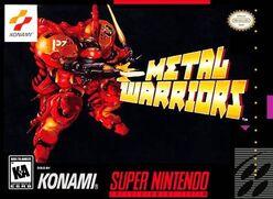 Metal Warriors North American SNES box art