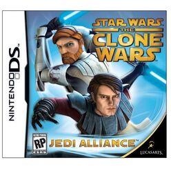 Star Wars- The Clone Wars - Jedi Alliance DS cover