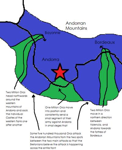 Orcs surround Andorra