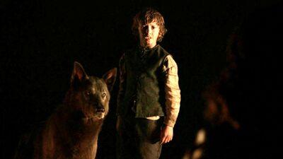 Rickon and Shaggydog