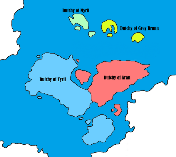 Radin Island - Internal