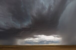 A Storm Blows