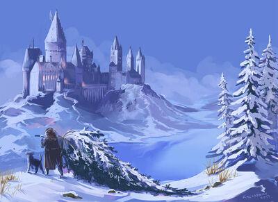 Hogwarts Winter