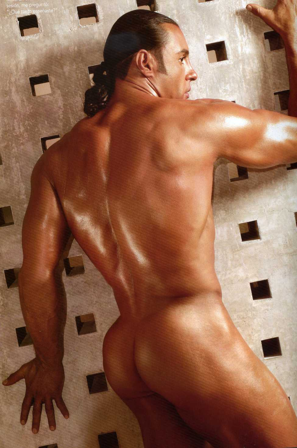 Adrian Actor Porno Desnudo nalgas de latin lover - soft porno movie