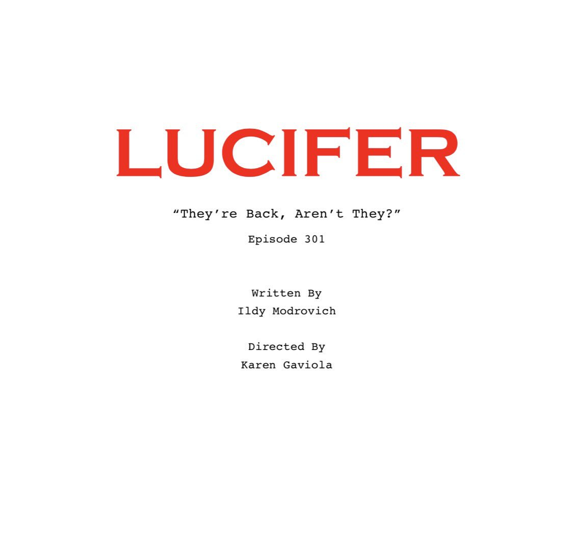Lucifer Wiki Chloe: They're Back, Aren't They?