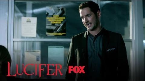 Lucifer Blames Chloe For Linda Not Talking To Him Season 2 Ep
