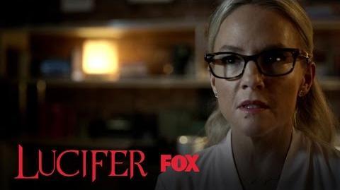Lucifer Shows Linda His Devil Face Season 2 Ep