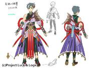 Yoshichika x Hibana (Art Design)