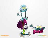Lucky Fred imagem MundoNick 4