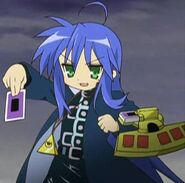 Konata as Yugi
