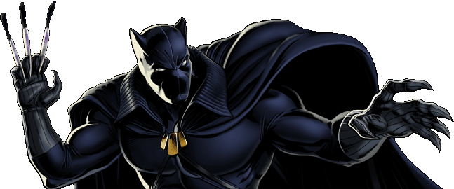 Marvel Avengers Alliance - Dialogue Artwork - Black Panther (Classic)