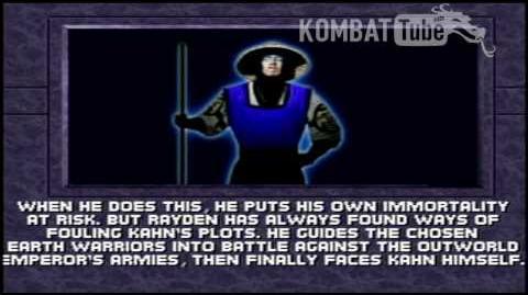 Mortal Kombat 3 - Endings - Rayden