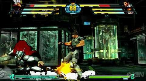 Marvel vs. Capcom 3 - Thor