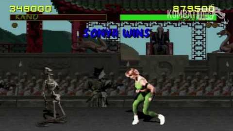 Mortal Kombat (1992) - Fatalities - Sonya Blade