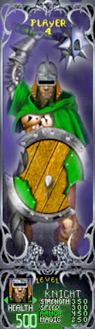 Gauntlet Dark Legacy - Green Knight (Player 4)