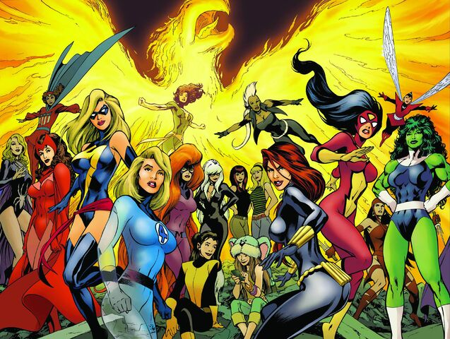 File:Marvel Comics - Women of Marvel Poster.jpg