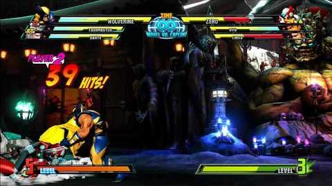 Marvel vs Capcom 3 - Wolverine