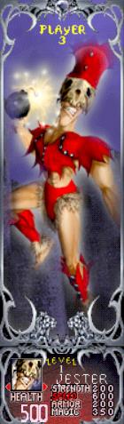 Gauntlet Dark Legacy - Red Jester (Player 3)