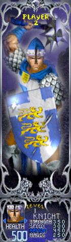 Gauntlet Dark Legacy - Blue Knight (Player 2)