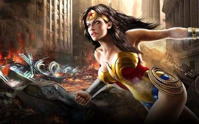 File:Mortal Kombat vs. DC Universe - Artwork - Detective Comics Characters - Wonder Woman.jpg