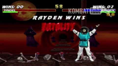 "Mortal Kombat 3 - Fatalities - Rayden - ""Electrocution"""