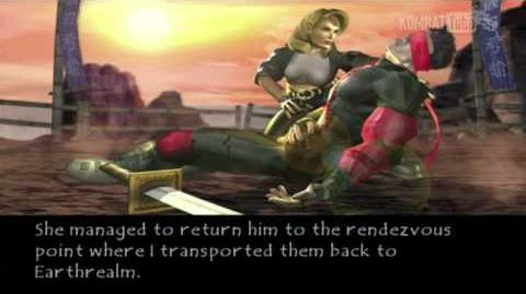 Mortal Kombat Deadly Alliance - Endings - Sonya Blade