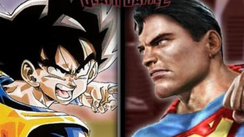 DEATH BATTLE! - Goku VS Superman