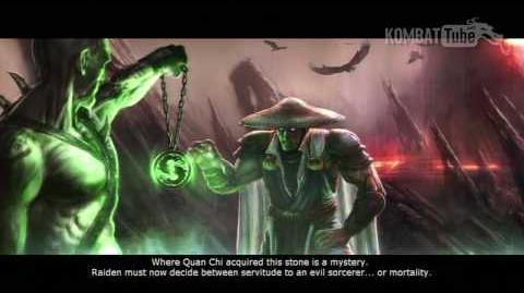 Mortal Kombat vs. DC Universe - Endings - Raiden