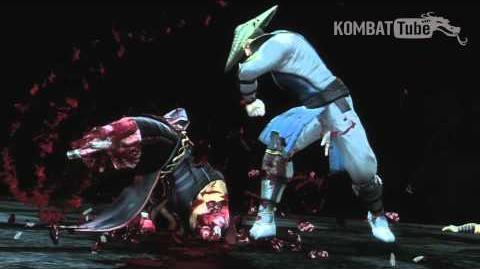 """Mortal Kombat (2011) - Fatalities - Raiden - """"Just a Scratch"""""""