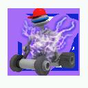 Infected robotonist mower